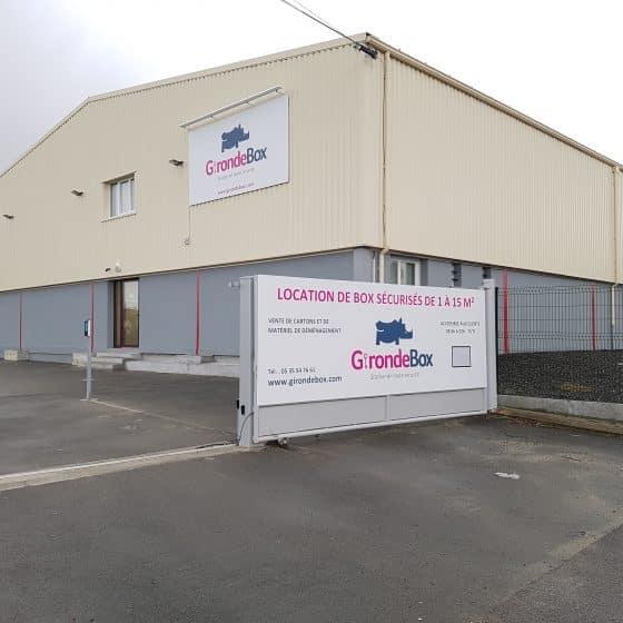 location de box de stockage à Saint Médard en Jalles prés de Bordeaux
