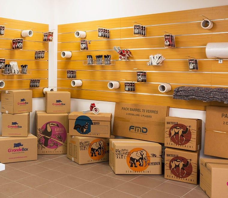 Cartons de déménagement pas cher Saint Médard en Jalles